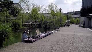 Walking in Kurashiki Okayama Japan - Traditional City - Gorgeous Canal Area