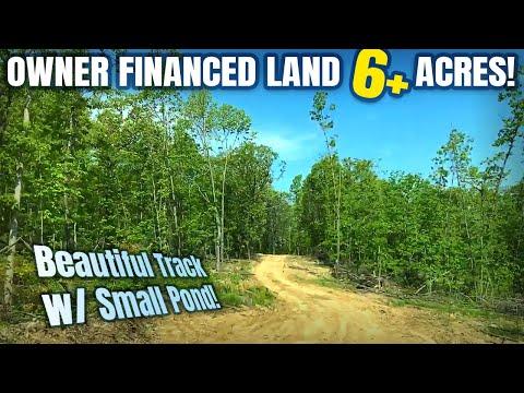 $500 Down - Owner Financed Land For Sale In Missouri W/ POND - ID#HR28