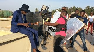 Ziza Bafana & Radio and Weasel - Byagana (behind the scene)