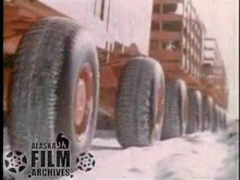 Letourneau Snow Train in Alaska