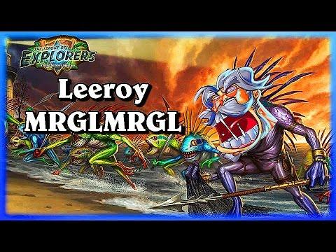 Leeroy MRLGMRLG ~Hearthstone Heroes of Warcraft The League of Explorers Video