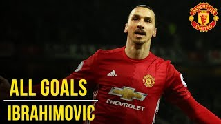 Zlatan Ibrahimovic | All the Premier League Goals (16/17) | Manchester United