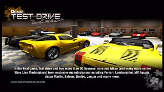OXM XBOX 360 Test Drive Unlimited + Dead Rising 1 Demo