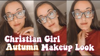 Christian Girl Autumn Makeup Look 🍁 || Kelly Marion