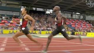 Leonel Manzano beats Lagat in Mile - from Universal Sports