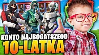 Opening Konta Fortnite KONTO MOJEGO BRATA WARTE 15.000zł *not clickbait*