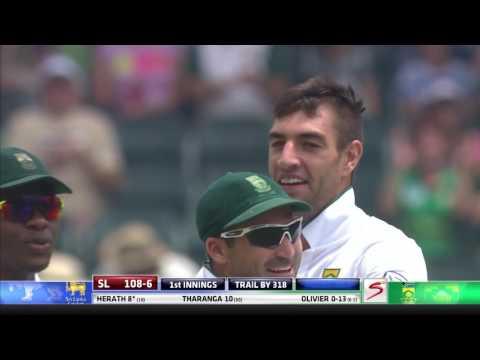 South Africa vs Sri Lanka - 3rd Test - Day 3 - Rangana Herath  Wicket