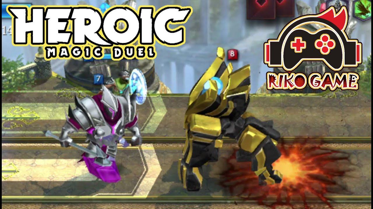 Heroic Magic Duel 🔥 Colossus Awakening GamePlay 📣📣 Riko  LvL 5 🔥