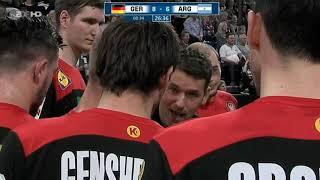 Deutschland - Argentinien Handball Testspiel
