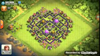 COC Savage Vacation Awesome clan