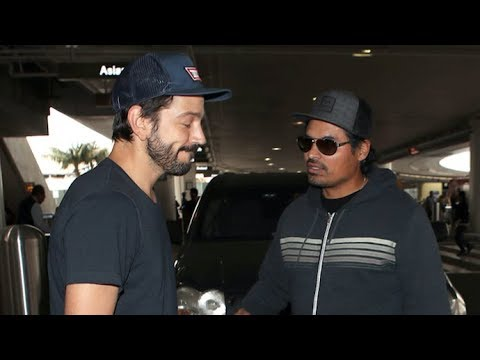 Diego Luna And Michael Peña Want YOU To Watch 'Narcos: Mexico'!