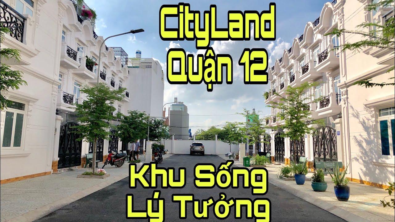 Bán nhà quận 12 TPHCM |Khu nhà lầu chuẩn Cityland vip nhất quận 12|giá rẻ 4.3 tỷ
