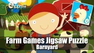 Barnyard - Farm Games Animal Games for Kids - iPad Jigsaw Puzzle App