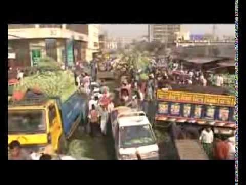 Karwan bazar vegetables part 1   ....story by sushanta sinha  at ATN NEWS