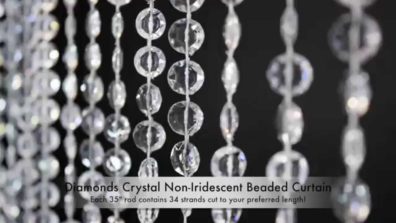 Diamonds Non Iridescent Beads