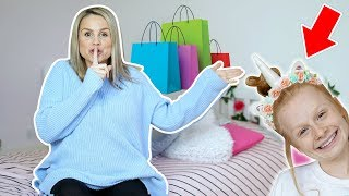 SURPRiSE SHOPPiNG FOR TEEN'S BEDROOM MAKEOVER!