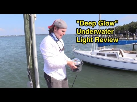 "deep glow"" underwater green light review - youtube, Reel Combo"