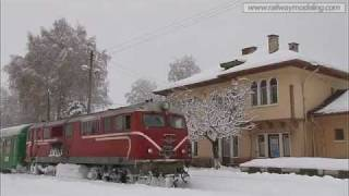 760 mm narrow gauge railway - Bulgaria. Winter tale. January 2012