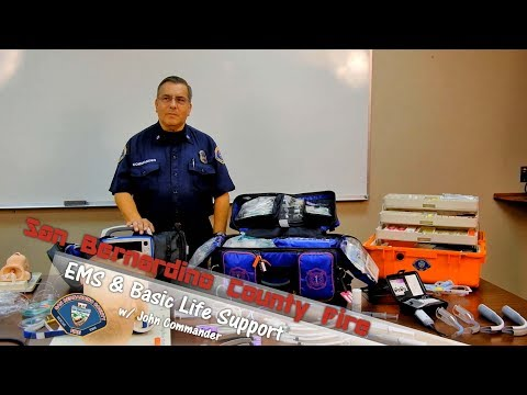 Basic Life Support W/ John Commander, EMS Training Officer