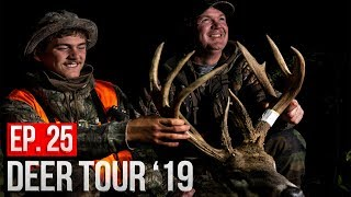 FATHER and SON MUZZLELAODER HUNT! - Iowa Public Land GIANT!