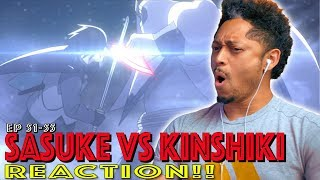 Sasuke vs Kinshiki! First Time Watching Boruto Episode 51 52 53 54 55 Reaction!