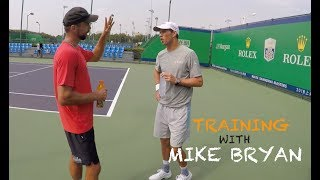 Training With Mike Bryan - Part 1 | Rolex Shanghai Masters 2018 (TENFITMEN)