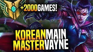 Korean Master Vayne Main + Insane Pentakill! - Korean Master OTP Vayne With +2000 Games!