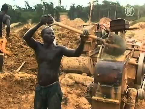 Illegal Chinese Gold Mining in Ghana