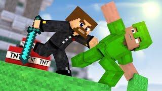 ЛОМАЮ КРОВАТИ КАК ЧИТЕР В ИНВИЗЕ - Minecraft Bed Wars Rush