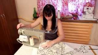 Как сшить летнее платье, How to Sew a Summer Dress(Как сшить летнее платье. Для тех, у кого есть швейная машинка. Выкройки внутри видео. Everyone can sew. I would like to..., 2013-06-17T09:10:28.000Z)