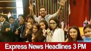 Express News Headlines - 03:00 PM - 5 May 2017
