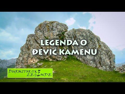Crnom Gorom: DURMITORSKE LEGENDE / Đevič Kamen - Legenda O Đevič Kamenu HD