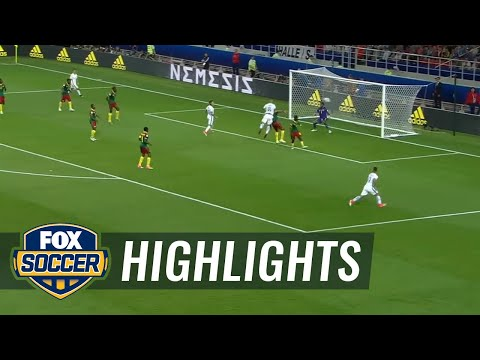 Alexis Sanchez connects with Arturo Vidal for 1-0 lead | 2017 FIFA Confederations Cup Highlights