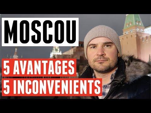 VIVRE À MOSCOU: 5 AVANTAGES ET 5 INCONVÉNIENTS (S'EXPATRIER EN RUSSIE, VIVRE EN RUSSIE)