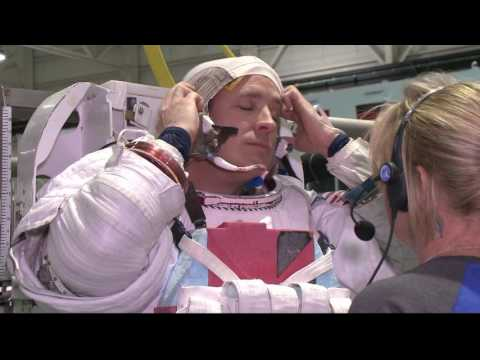 ISS Expedition 51-52 Pre Flight Training Footage