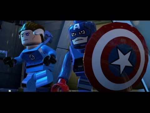 marvel lego level 2 walkthrough