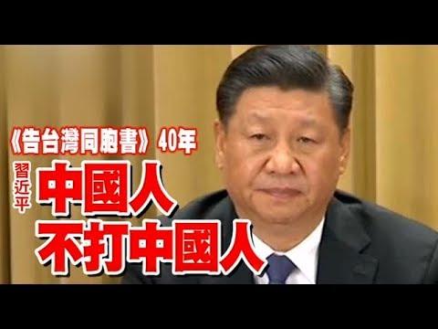 【告臺灣同胞書全文】習近平:中國人不打中國人 5要點談統一 | 臺灣蘋果日報 - YouTube