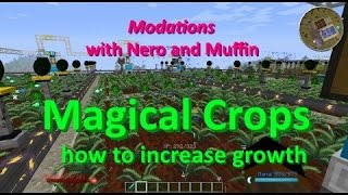 Modations - Magical Crops How to increase growth!