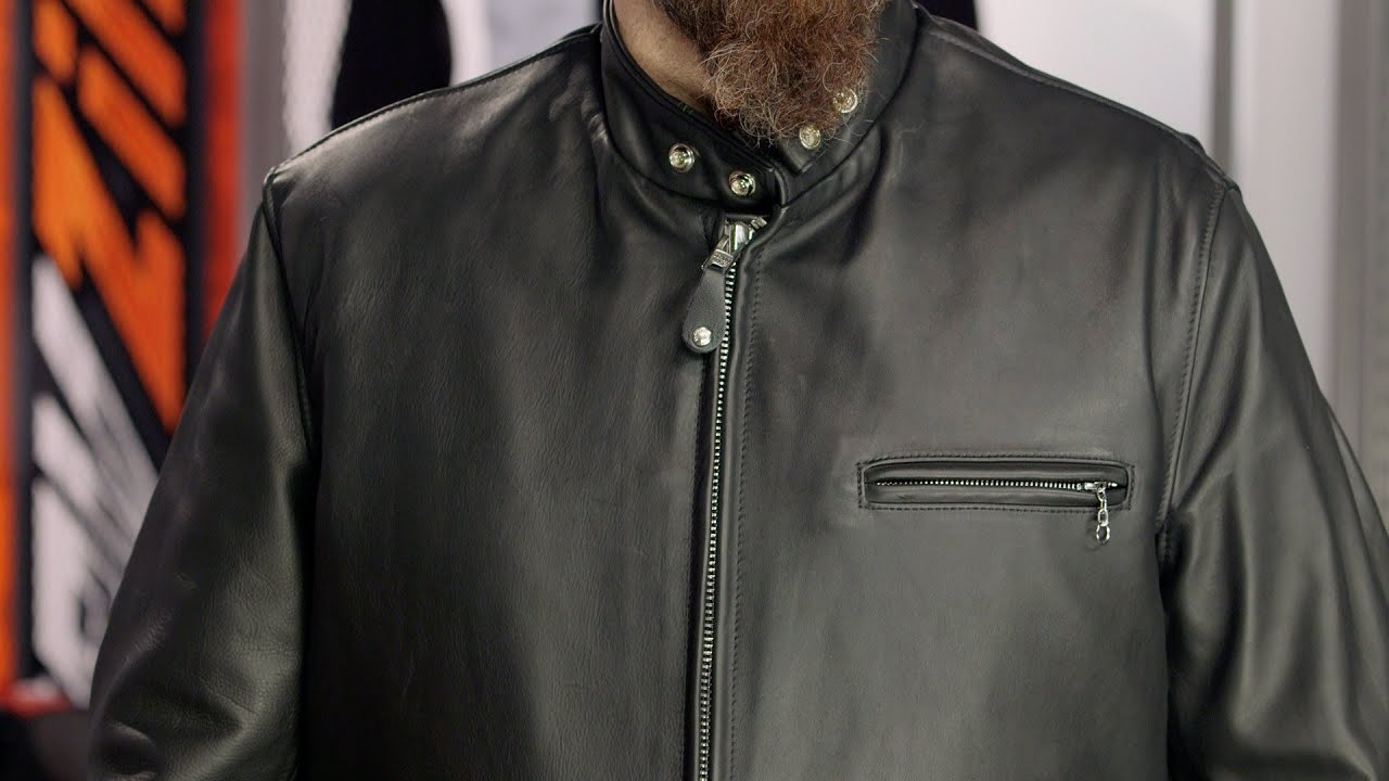 Schott 141 Cafe Racer Jacket Review at RevZilla.com - YouTube 94475bcca94