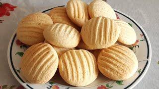 Biscoitos de Nata Deliciosa que Derrete na Boca