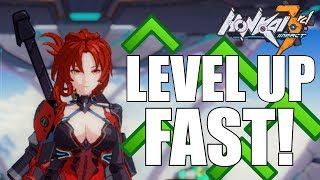 Honkai Impact 3 - How To Level Up FAST!