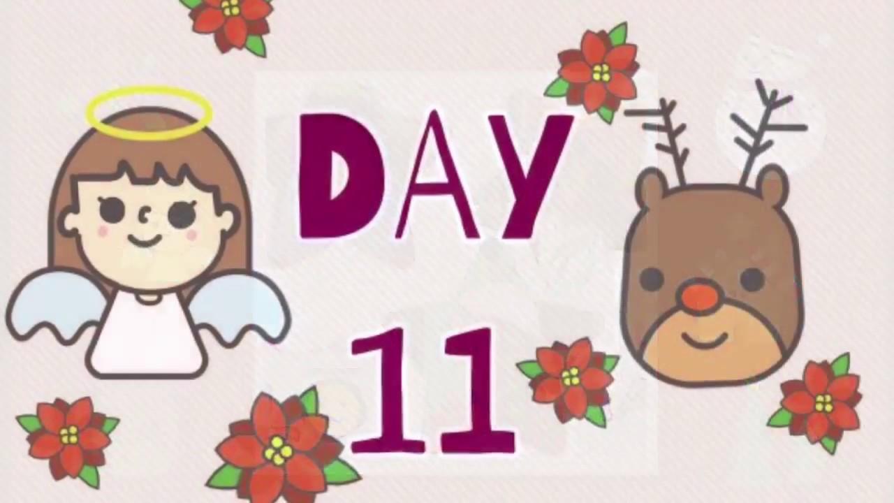 Day 11 of advent calendar. Opening of chocolate advent calendar ...