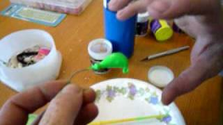 How to Powder Paint a Bucktail Jig