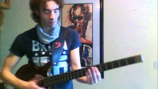 Karl Clews on bass - Congabass by Eric Serra (solo bass arrangement)