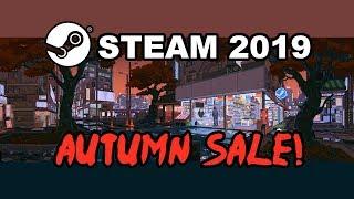 STEAM BLACK FRIDAY SALE 2019 (Steam Autumn Sale 2019, Badge, Best Deals, Dates & Details)
