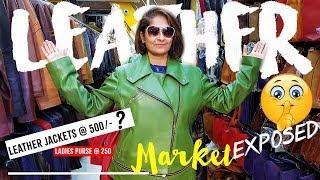 Leather Market Exposed | Mumbai | Big Brands at Cheapest Price | Dharavi Vlog