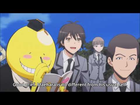 Ansatsu Kyoushitsu Season 2 Kagaijugyou Hen All Koro Sensei's Weak Point & Laughts