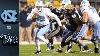 North carolina stormed out of the gates to a 20-3 first half lead and held on in second beat #23 pittsburgh at heinz field 26-18. marquise willi...