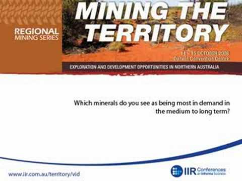 IIR Interview - Scott Perkins On Mining The NT
