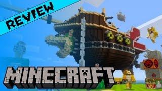 Minecraft Review (Wii U)
